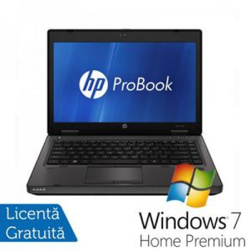 Laptop HP ProBook 6460b, Intel Celeron Dual Core B840 1.9Ghz, 4Gb DDR3, 320Gb HDD, Wi-Fi, 14 Inch + Win 7 Home Premium