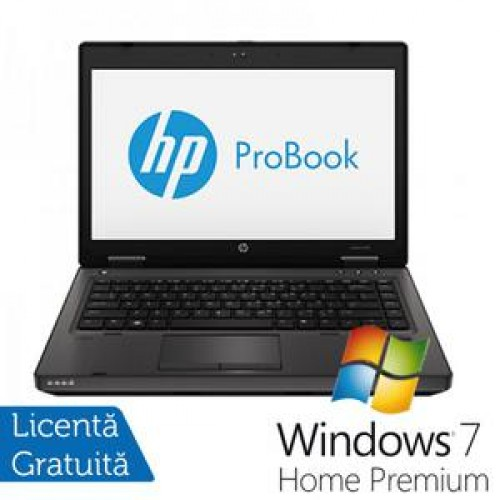 Laptop HP ProBook 6470b, Intel Core i5-3320M 2.6Ghz Gen.3, 4Gb DDR3, 320Gb HDD, DVD-RW, Wi-Fi, 14 Inch LED backlit HD + Win 7 Home Premium