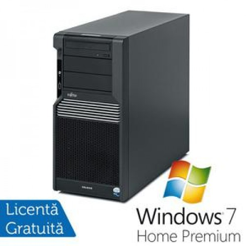 Fujitsu CELSIUS M470, Intel Xeon Quad Core W3520 2.66Ghz, 8GB DDR3, 2x 160GB SATA2, DVD-RW + Windows 7 Home Premium