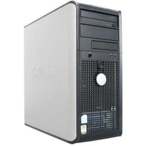Calculator DELL Optiplex GX740 Tower, AMD Athlon x2 4600+ 2.40 GHz, 2 GB DDR2, 80GB SATA, DVD-RW
