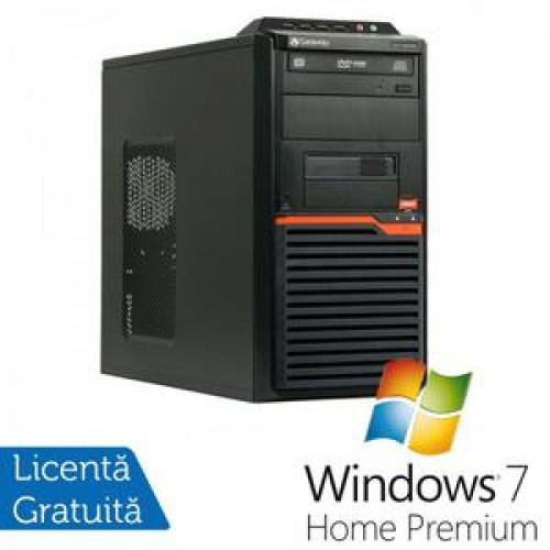 Calculatoare Gateway DT55, AMD Athlon II X2 250 3.0 Ghz, 4Gb DDR2, 320Gb, DVD-RW + Windows 7 Home Premium