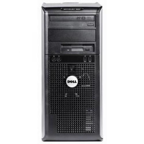 Calculator DELL Optiplex GX360, Intel Pentium Dual Core E2220, 2.4 GHz, 2GB DDR2, 160GB SATA, DVD-RW + Windows 7 Home Premium