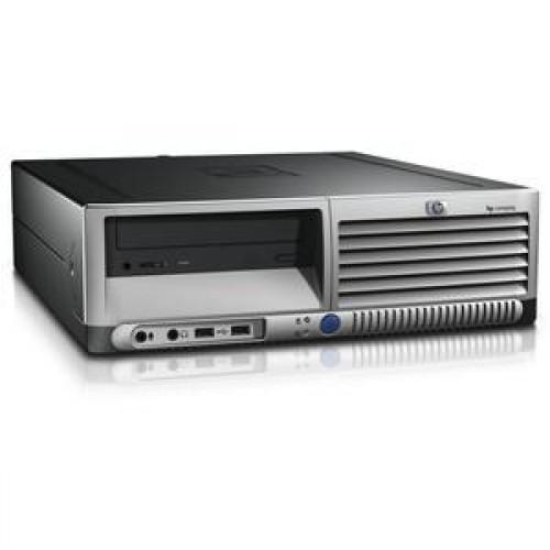 Calculator HP DC5100, SFF, Intel Pentium 4, 2.80 GHz, 2 GB DDR2, 80GB SATA, DVD-RW