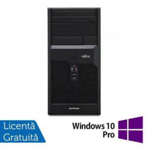 Fujitsu P3721 Tower, Intel Core i3-540 3.06Ghz , 4Gb DDR3, 250GB SATA, DVD-RW + Windows 10 Pro