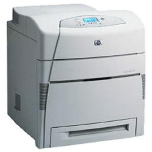 Imprimanta laser color HP Laserjet 5550DN cu cartuse incarcate 100%
