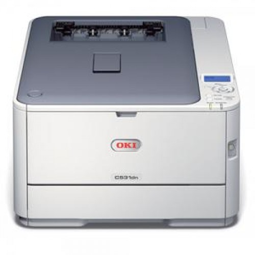 Imprimanta Laser Color OKI C531DN, 31 ppm, 1200 x 600 dpi, Duplex, Retea, USB