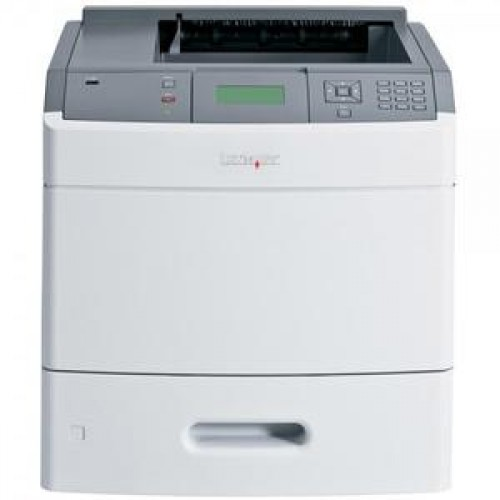 Imprimanta laser monocrom Lexmark T652DN, USB, Retea, Duplex, 48 ppm, Sh