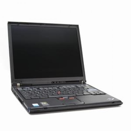 Laptop Second Hand IBM ThinkPad T41, Pentium M 1.6ghz, 512mb, 40gb, DVD-ROM, 14 inci
