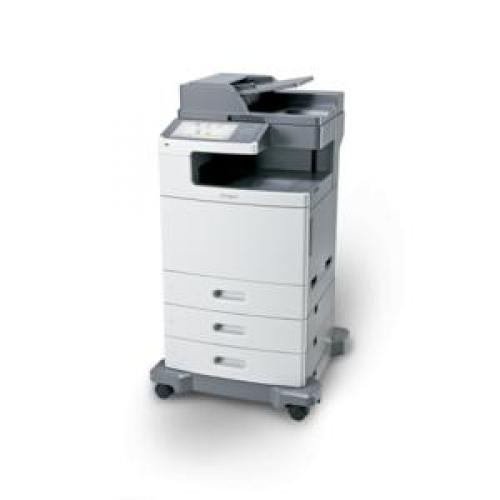 Multifunctionala Second Hand Lexmark X792DE, 50 ppm, 1200 x 1200 dpi, Retea, USB, Fax, Copiator, Scanner
