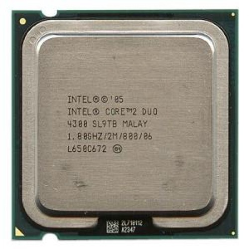 Procesor Intel Core2 Duo E4300, 1.8Ghz, 2Mb Cache, 800 MHz FSB