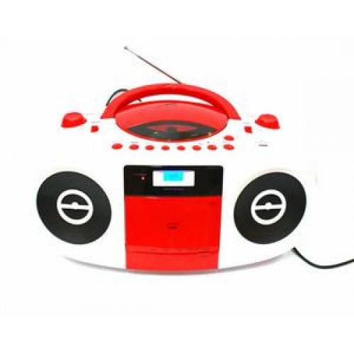 Sistem Audio TERRIS RCA-253, Tape, Radio, CD, MP3, USB, AUX, Bass Boost