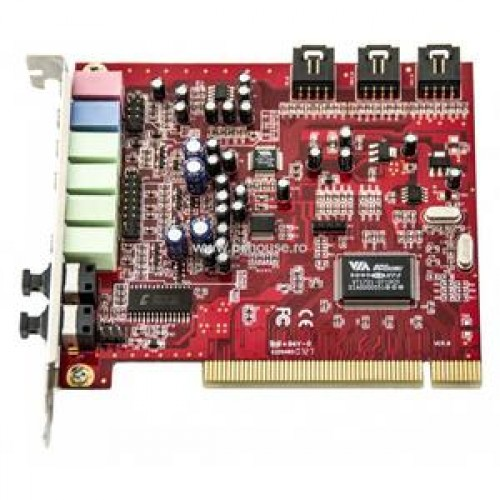 Sound Blaster VIA, Model Number VT1721-0740CD, Slot PCI