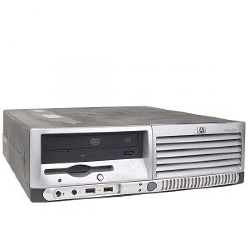 PC HP Compaq DC7100 SFF, Intel Pentium 4 2.8GHz, 1GB DDR, 80GB HDD, DVD-ROM