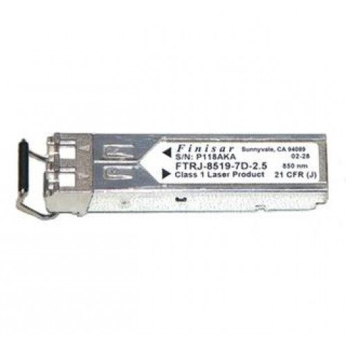 Optical transceiver Finisar FTRJ-8519P1BNL, IBM 53p0407, 2000 Mbps, Mini GBIC