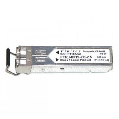 Optical transceiver Finisar FTRJ-8519P1BNL, IBM 53p0407, 2000 Mbps, Mini GBIC