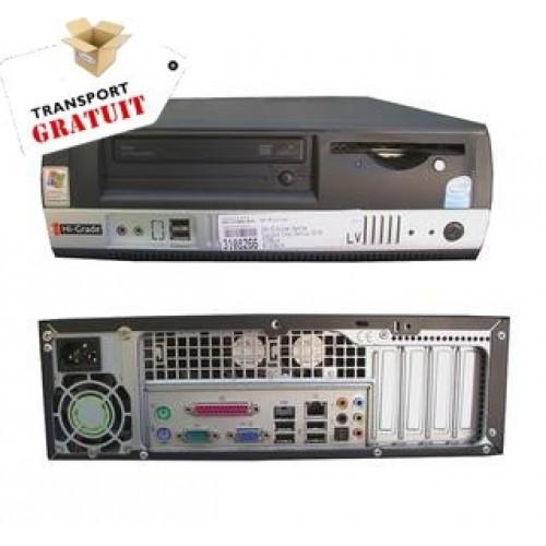 Desktop Intel Celeron D 347, 3.06Ghz, 512Gb DDR2, 80Gb SATA, DVD-ROM