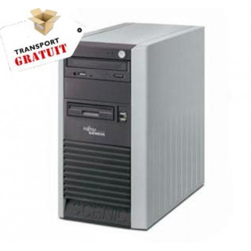 Pachet 10 calculatoare Fujitsu Scenic P300 Intel Celeron 2.6 GHZ, 40 Gb, 512 MB, CD-ROM