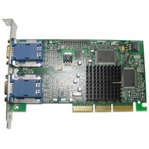 Placa video AGP Matrox G45+ MDHA16D, 16 MB, Dual VGA