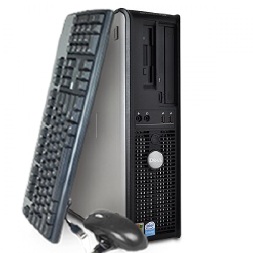 Calculator SH Dell Optiplex 755 SFF, Intel Core 2 Duo E8400 3.0GHz , 2Gb DDR2 , 160Gb SATA , DVD-RW