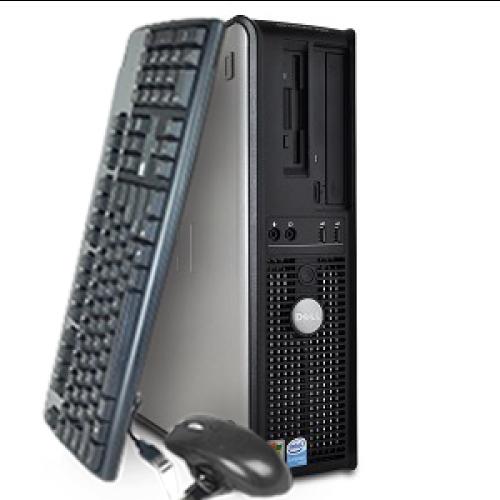 Calculator SH Dell Optiplex 755 SFF, Intel Core 2 Duo E8400 3.0GHz , 2Gb DDR2 , 250Gb SATA , DVD