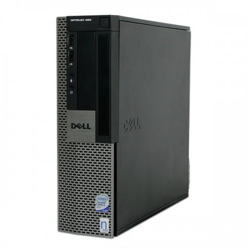 PC SH Dell OptiPlex 960 SFF, Intel Core 2 Duo E8400, 3.0Ghz, 4Gb DDR2, 250Gb HDD, DVD-ROM