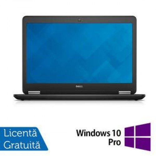 Laptop DELL Latitude E7440, Intel Core i5-4300U 1.90 GHz, 8GB DDR3, 256GB SSD + Windows 10 Pro