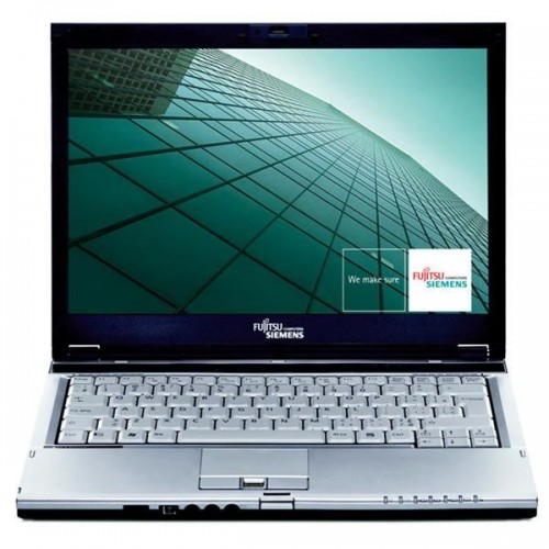 Notebook Second Hand Fujitsu Lifebook S6410, Core 2 Duo T8100, 2.1Ghz, 80Gb HDD, 2048Mb, DVD-RW, 13.3 inch ***