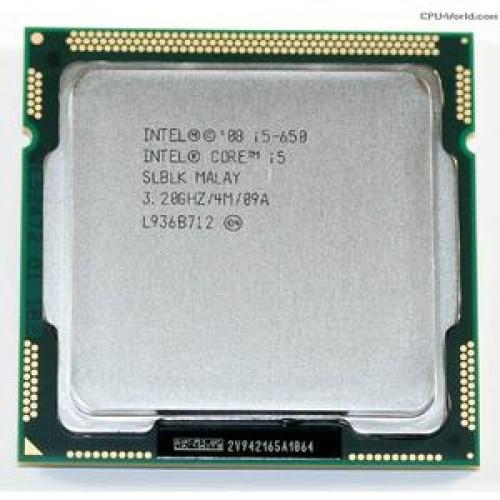 Procesor Intel Core i5-650, 3.2Ghz, 4Mb Cache
