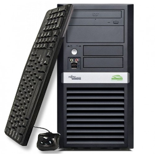 Fujitsu ESPRIMO P3500. Intel Pentium Dual Core E2160, 1.8Ghz, 1Gb DDR2, 80Gb, DVD-ROM ***