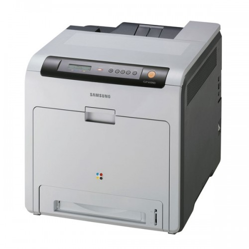 Imprimanta Laser Color A4 Samsung CLP-610ND, 20 ppm, Duplex, Retea, USB 2.0