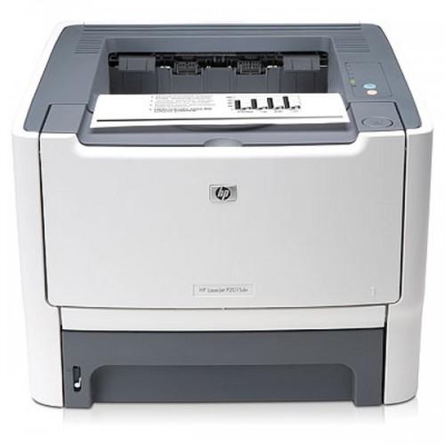 Imprimanta Laser HP LaserJet P2015N, 1200 x 1200 dpi, 27 ppm, USB 2.0, Retea, Cartus nou compatibil 3k