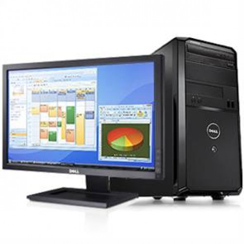 Super Oferta PC Dell Vostro TM230, Intel Core 2 Duo E7500 2,93Ghz, 2Gb DDR3, 160Gb HDD, DVD-RW cu Monitor LCD