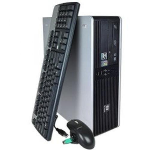 Unitate Second Hand HP DC5850 AMD Phenom 8600B Triple Core, 2.3Ghz, 2Gb DDR2, 80Gb, DVD-RW ***