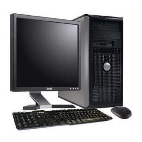 Calculator SH Dell Optiplex 755 Tower, Intel Core 2 Duo E6550 2,33GHz , 2Gb DDR2 , 160Gb SATA , DVD-ROM cu Monitor LCD ***