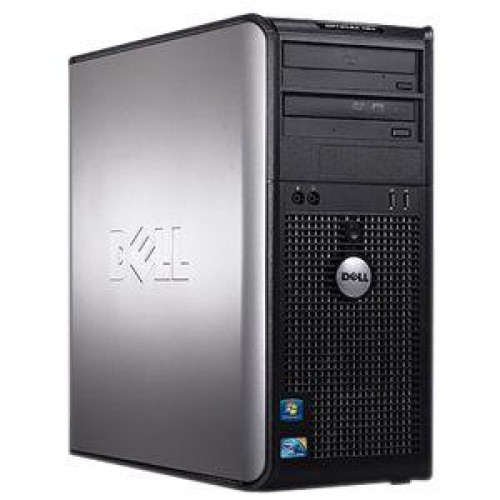 Dell Optiplex 755 MT, Core 2 Duo E6550, 2.33Ghz, 2Gb DDR2, 80 Gb HDD, DVD-ROM