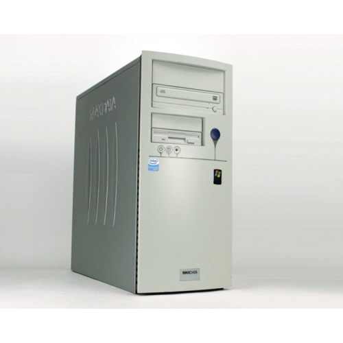 PC SH Maxdata Favorit Tower, AMD Sempron 3000+, 1.8Ghz, 512Mb , 80Gb SATA, DVD-ROM