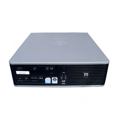 PC SH HP DC5800 SFF,Pentium Dual Core E5300, 2.6Ghz, 2Gb DDR2, 80Gb SATA, DVD-ROM