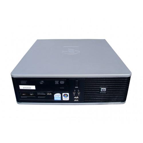 PC SH HP DC5800 SFF,Pentium Dual Core E5300, 2.6Ghz, 2Gb DDR2, 80Gb SATA, DVD-ROM