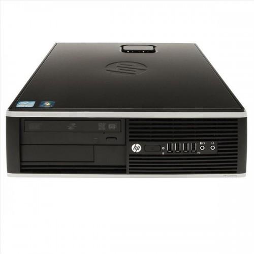 Calculator SH HP Compaq Elite 8000 SFF, Intel Core 2 Quad Q6600, 2.4Ghz, 4Gb DDR3, 320Gb, DVD-RW + Windows 7 Home Premium
