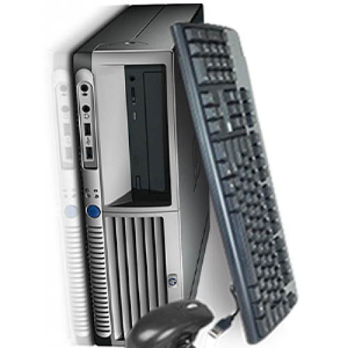 Unitate Centrala HP Compaq DC7100 SFF, Intel Pentium 4, 3,0GHz, 1GB DDR, 80GB HDD, DVD-ROM