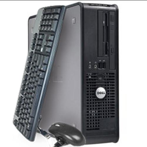 Calculator Dell Optiplex 320, Intel Core 2 Duo E6300,1.87Ghz, 2Gb DDR2, 80Gb SATA, DVD-ROM ***