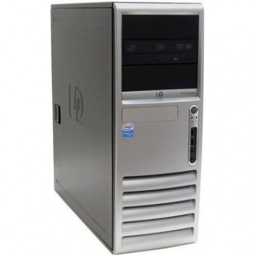PC HP Compaq Tower D530, Intel Pentium 4 2.6Ghz, 2GB DDR, 80Gb HDD, DVD-ROM
