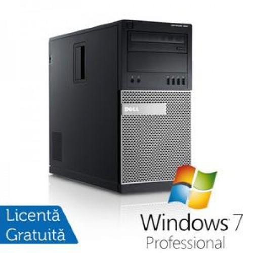Calculator DELL GX990 Tower, Intel Core i5-2500, 3.30 GHz, 8GB DDR3, 320GB SATA, DVD-RW + Windows 7 Professional