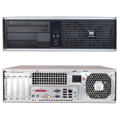 Calculator  HP DC5750 SFF, Athlon 64 X2 3800+ 2.40GHz, 2 GB DDR2, 80 HDD, DVD-ROM