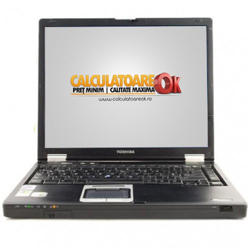 Laptop Second Hand Tochiba Tecra M2, Intel Pentium M 1.6Ghz, 1Gb RAM, 40Gb HDD, DVD-ROM, 14.1 inch ***