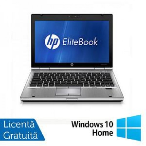 Laptop Hp EliteBook 2560p, Intel Core i5-2540M 2.6Ghz, 4Gb DDR3, 320Gb SATA, DVD-RW, 12,5 inch LED-backlit HD, DisplayPort + Windows 10 Home