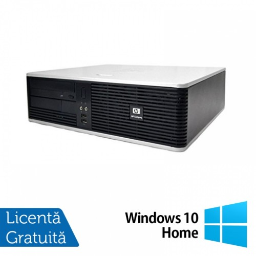 PC HP DC5800 Desktop, Intel Core 2 Duo E8400 3.00GHz, 4GB DDR2, 250GB SATA, DVD-RW + Windows 10 Home