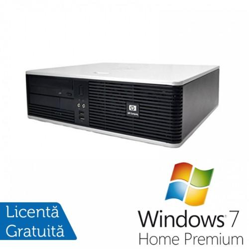 PC HP DC5800 Desktop, Intel Core 2 Duo E8400 3.00GHz, 4GB DDR2, 250GB SATA, DVD-RW + Windows 7 Home Premium