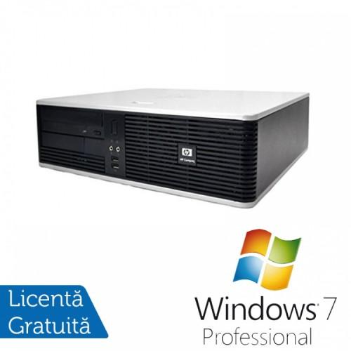 PC HP DC5800 Desktop, Intel Core 2 Duo E8400 3.00GHz, 4GB DDR2, 250GB SATA, DVD-RW + Windows 7 Pro