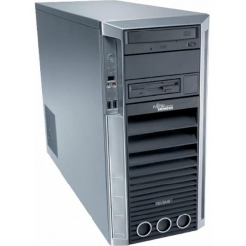 Statie grafica Fujitsu Celsius M460, Intel Core 2 Duo E8400, 3.0Ghz, 4Gb DDR2, 250Gb SATA, DVD-RW